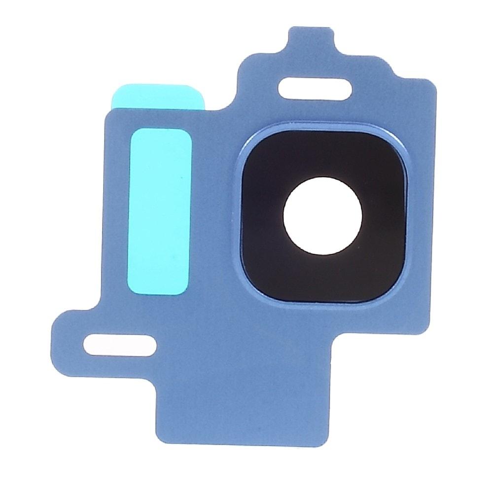 Samsung Galaxy S8 krycí sklíčko čočky fotaparátu včetně rámečku modrá G950F