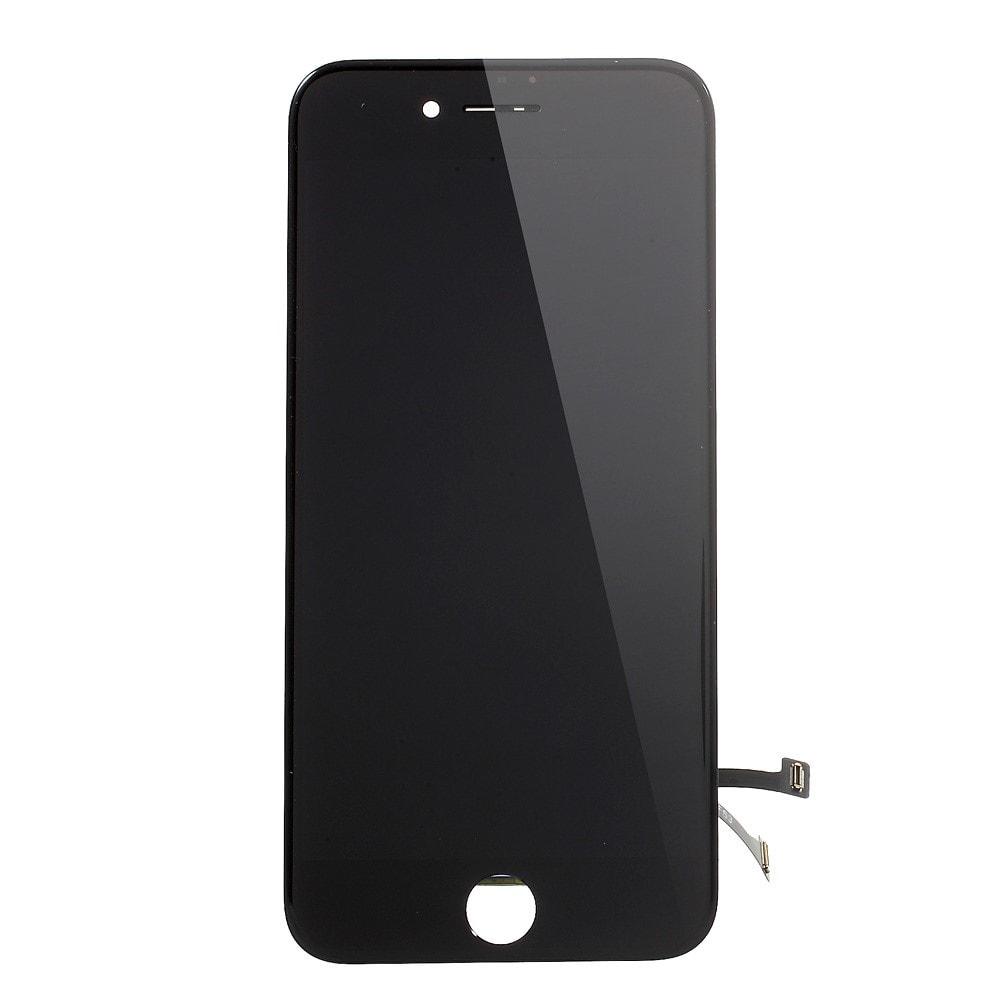 Apple iPhone 7 LCD dotykové sklo černé přední kompletní panel jasnější podsvit