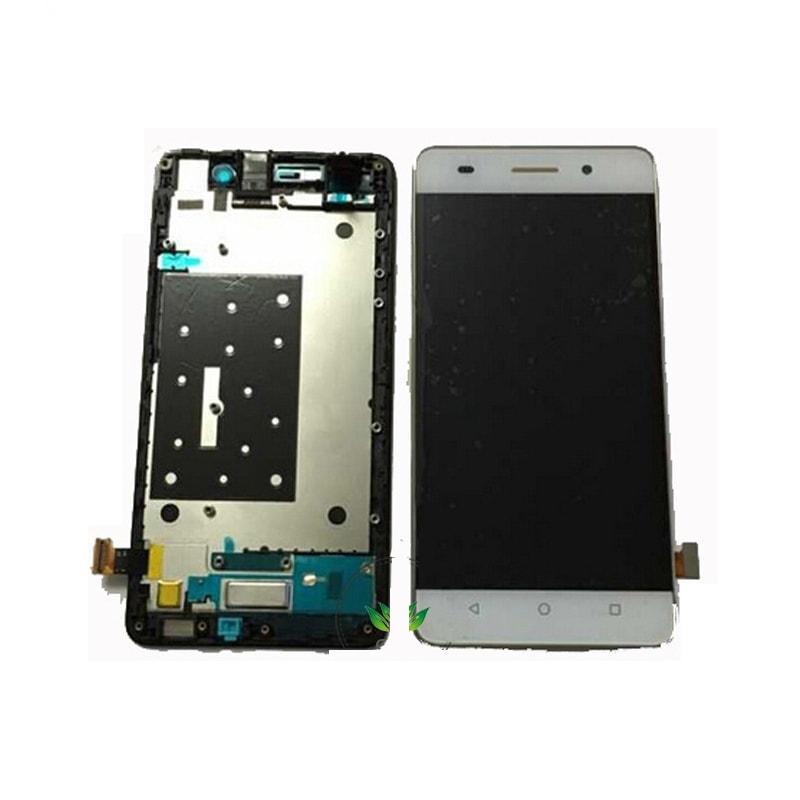 Honor 4C LCD displej bílý + dotykové sklo včetně rámečku