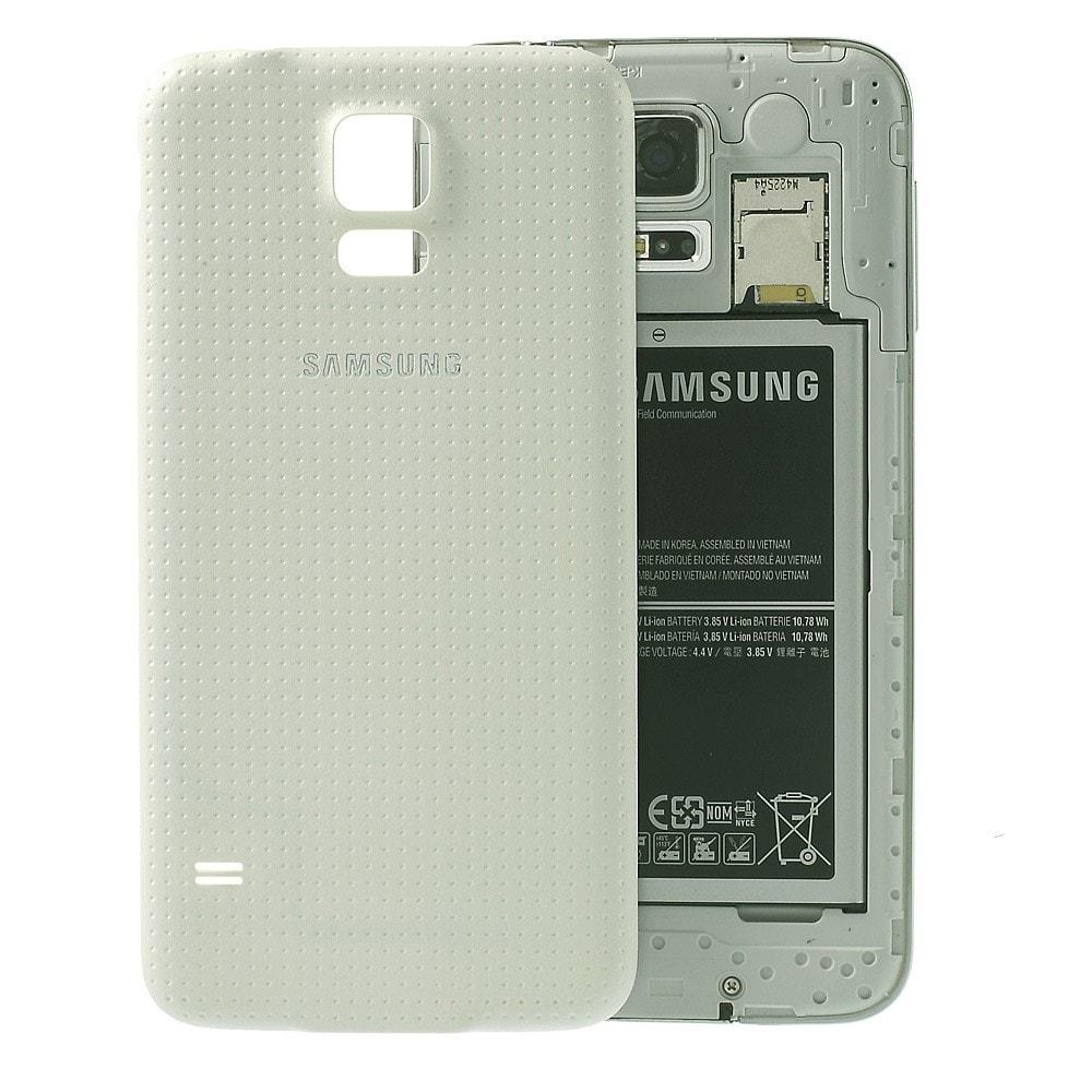 Samsung Galaxy S5 zadní kryt baterie bílý G900