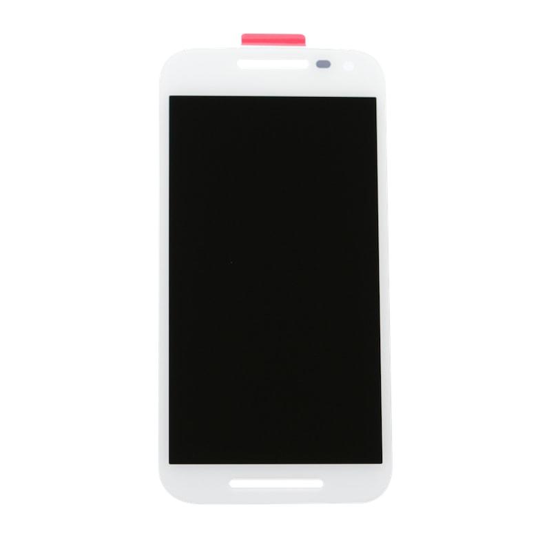 Motorola Moto G3 LCD displej bílý + dotykové sklo 3. generace XT1544 XT1550