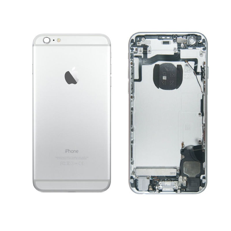 Apple iPhone 6S zadní kryt baterie osazený stříbrný silver