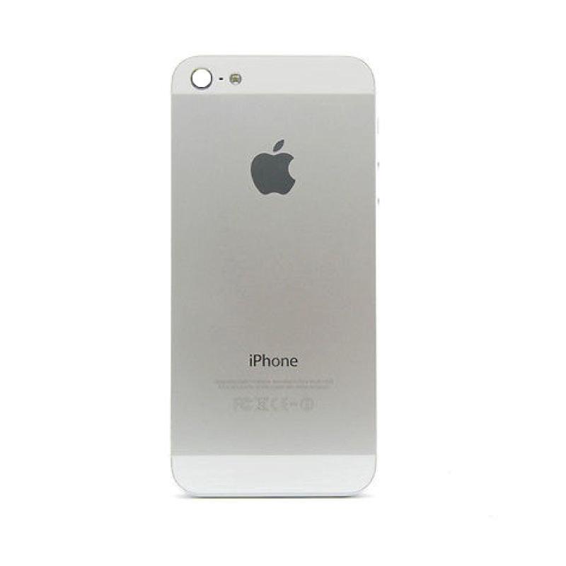 Apple iPhone 5 zadní kryt baterie bílý stříbrný