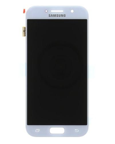 Samsung Galaxy A5 2017 LCD displej dotykové sklo modré A520F