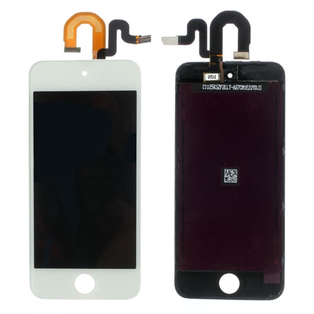Apple iPod Touch 5 gen. LCD displej dotykové sklo bílé