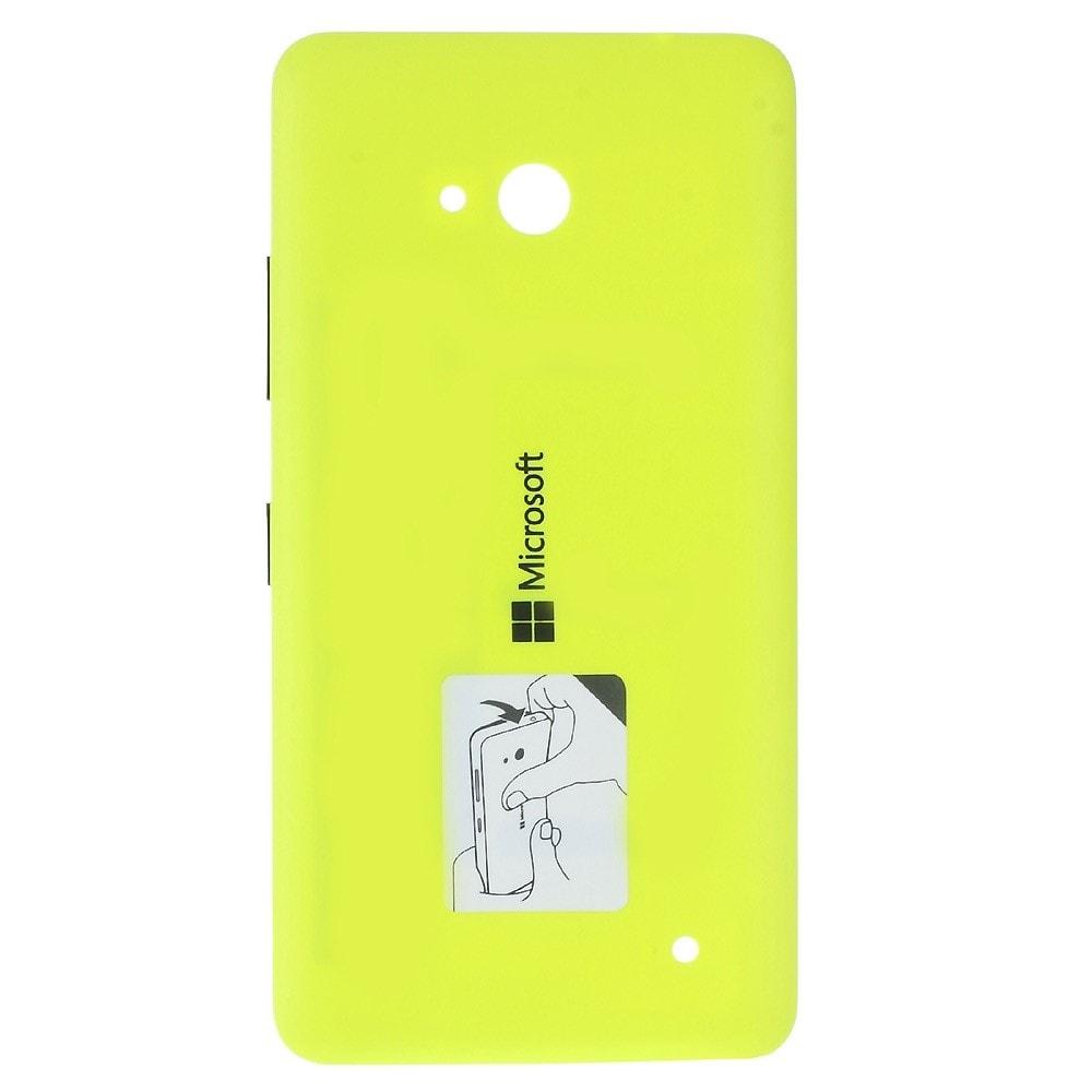 Microsoft Lumia 640 Dual sim LTE zadní kryt baterie žlutý