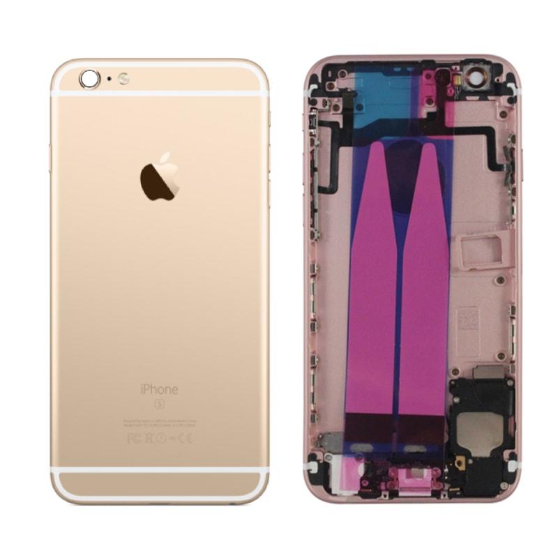 Apple iPhone 6S zadní kryt baterie osazený zlatý gold champagne