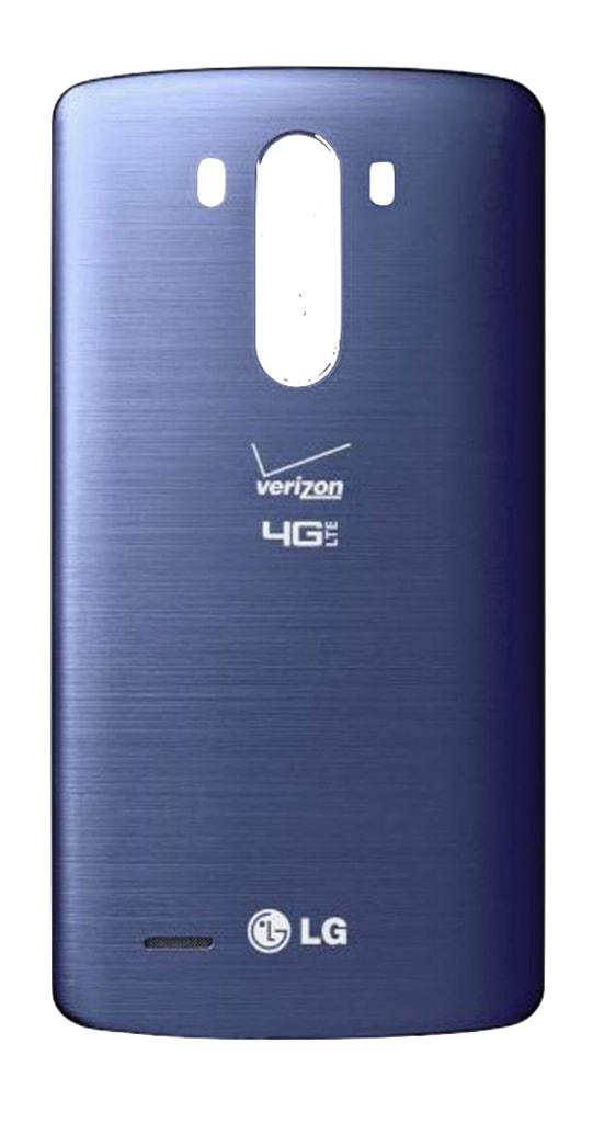 LG G3 Zadní kryt baterie modrý logo Verizon