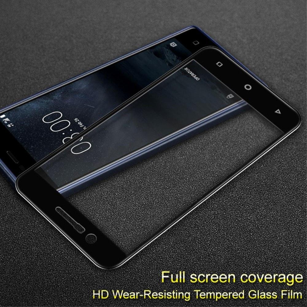 Nokia 3 Ochranné tvrzené sklo 3D černé