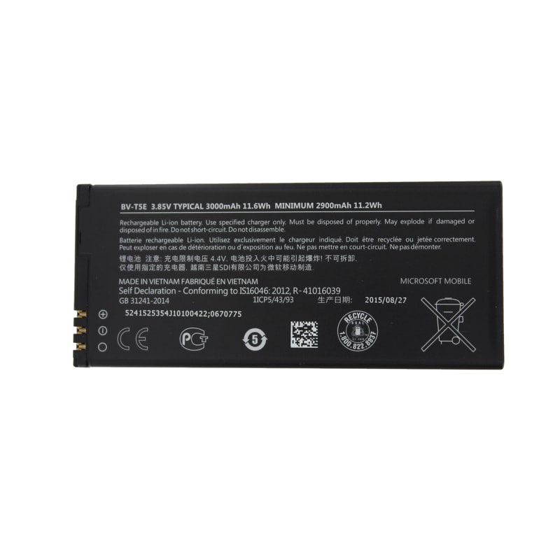Nokia Microsoft Lumia 950 Baterie BV-T5E originální