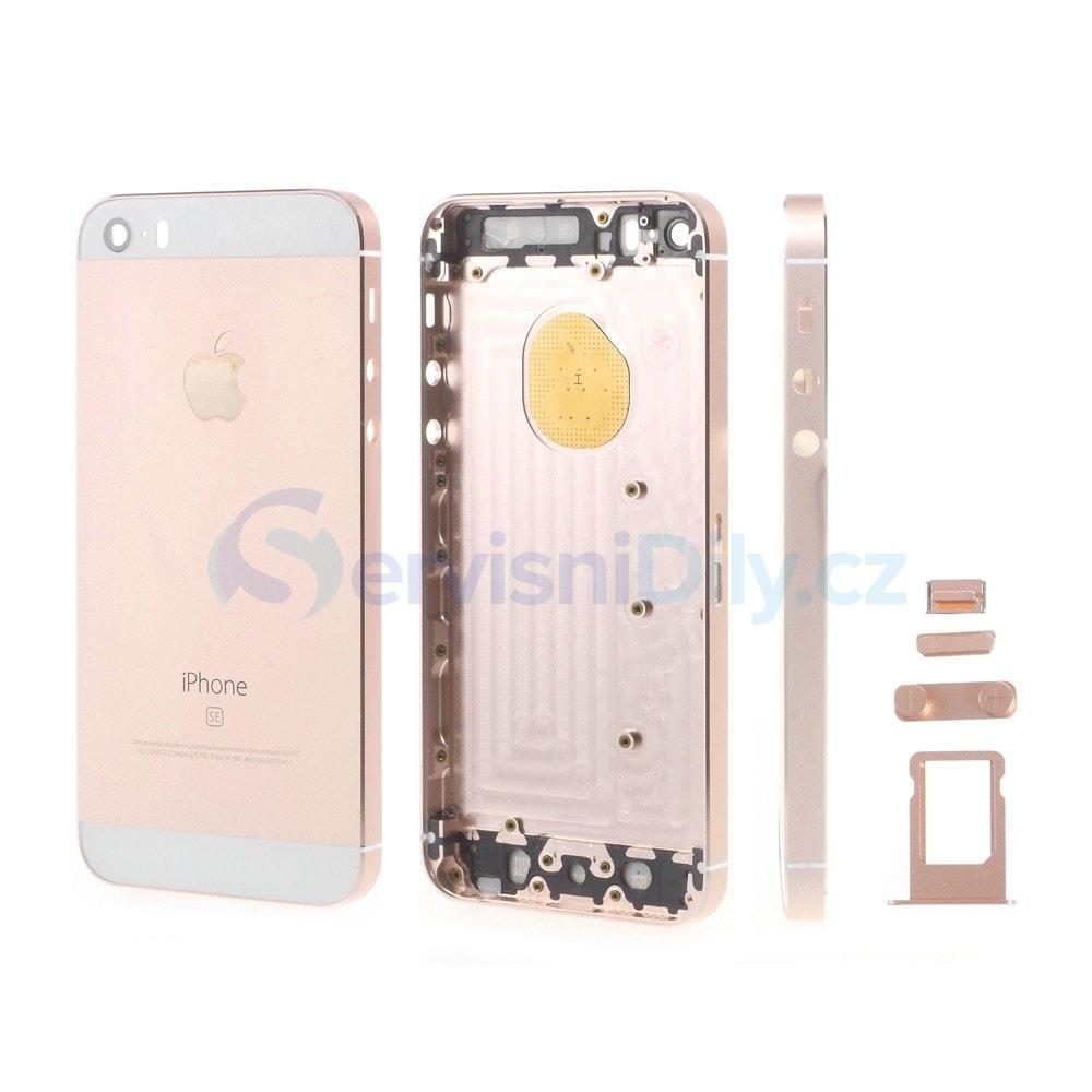 Apple iPhone SE zadní kryt baterie růžový rose gold - iPhone SE ... e4a335dc980