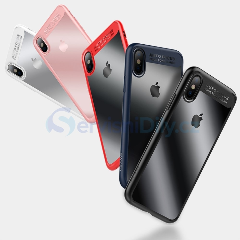Apple iPhone X silikonový kryt USAMS modrý - Apple - Pouzdra a obaly ... 66ba99b8d13